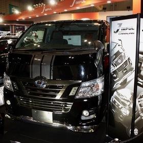 ホシノインパル J IMPUL CARAVAN  ベース車両:NISSAN | NV350キャラバン 東京オートサロン2017出展車両
