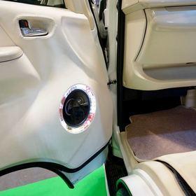 舞杏 BUAN KAZUKIAUTO  ベース車両:ハイエース200系  BUANのコンプリートカー  京の上品な和風のBUANフルエアロによるドレスアップカスタム  大阪オートメッセ2017 出展車両